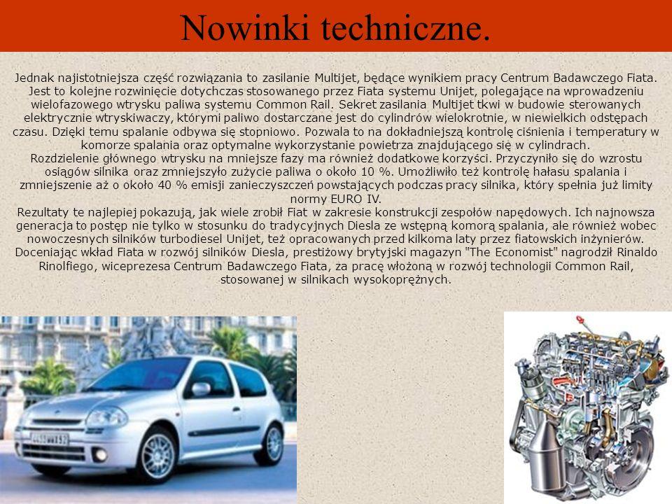 Nowinki techniczne. Nowy silnik Renault Laguna II Gama wersji turbo diesel Laguny II wzbogaca się o nowy silnik 2.2 dCi 150 KM. Ta nowa jednostka napę