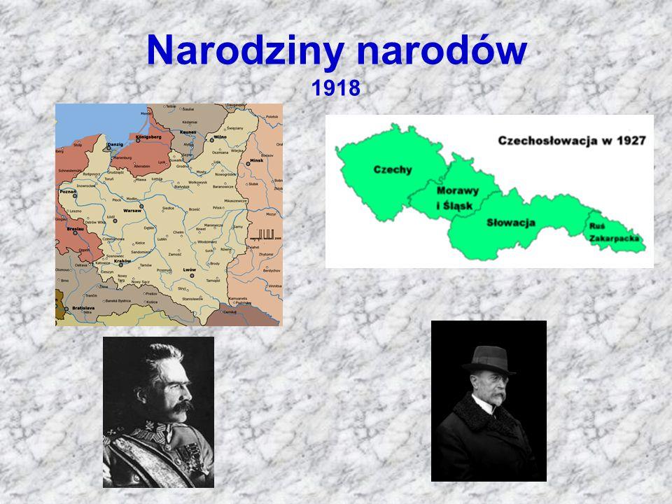 Narodziny narodów 1918