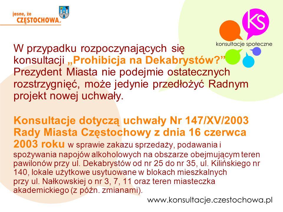 Plakat informujący o rozpoczynających się konsultacjach
