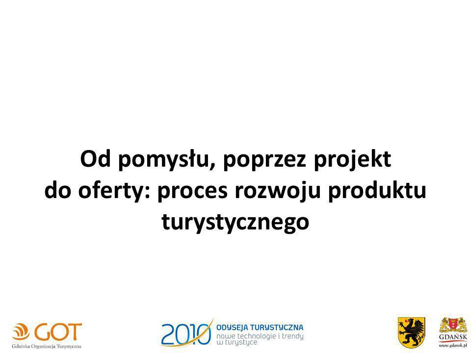 Od pomysłu, poprzez projekt do oferty: proces rozwoju produktu turystycznego