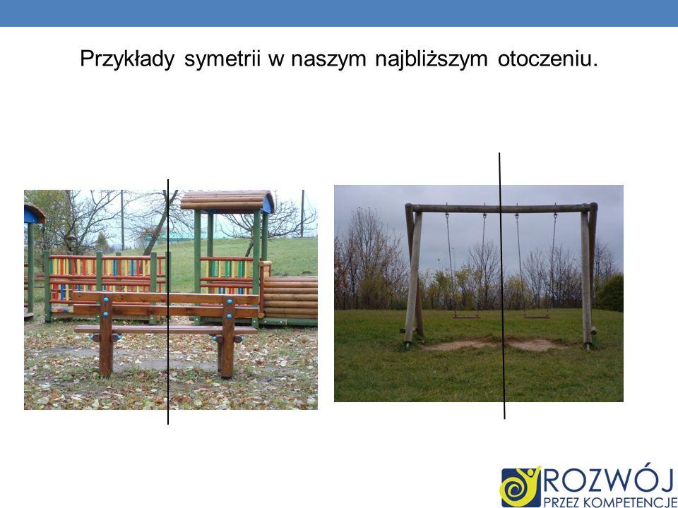 Przykłady symetrii w naszym najbliższym otoczeniu.