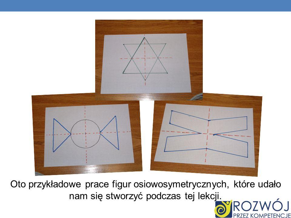 Oto przykładowe prace figur osiowosymetrycznych, które udało nam się stworzyć podczas tej lekcji.