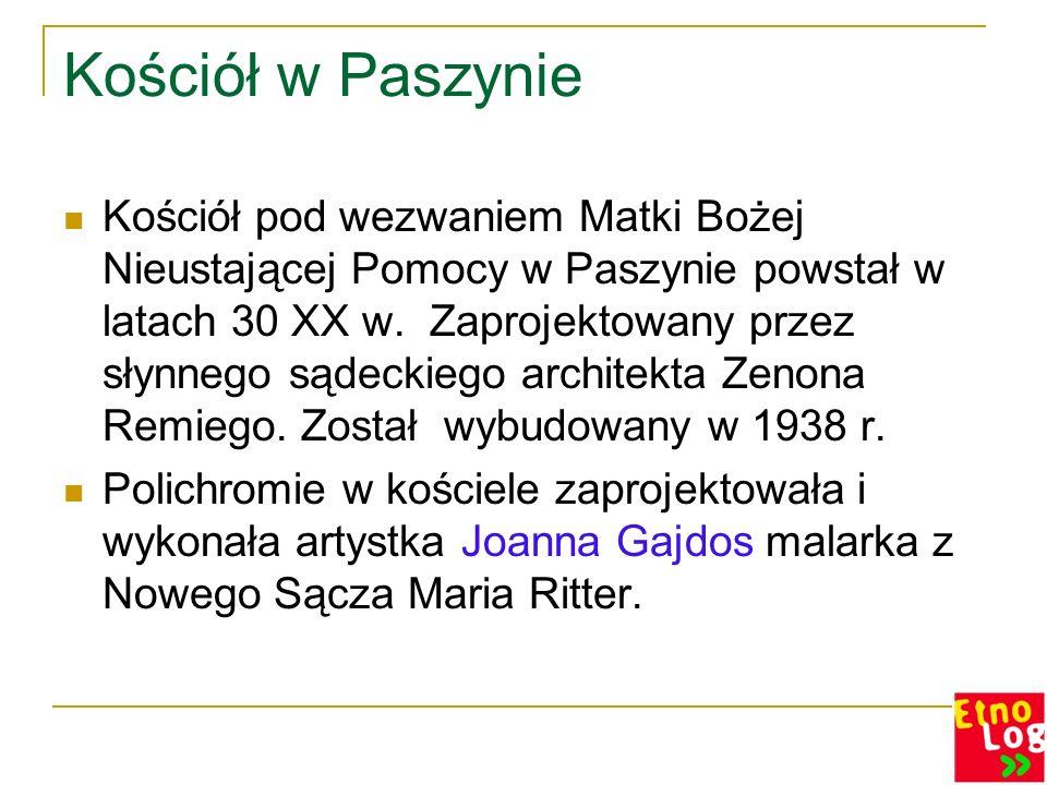 Twórcy Paszyńscy + Oleksy Wojciech + Oleksy Stanisław + Mika Stanisław + Mika Wojciech + Hołda Stanisław + Poręba Stanisław + Drożdż Andrzej + Piwko Mieczysław Oleksy Władysław Maria Jasińska c.