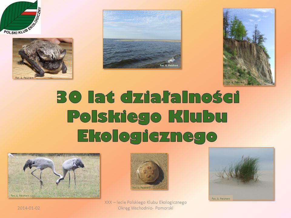 Trudno ustalić początek powstania Polskiego Klubu Ekologicznego.