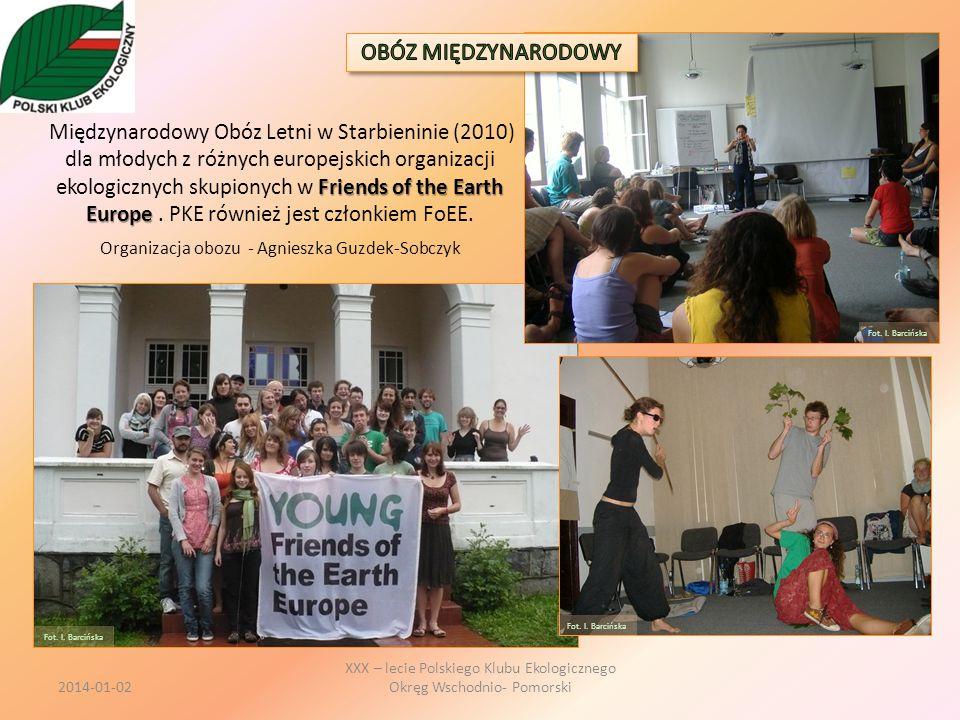 Friends of the Earth Europe Międzynarodowy Obóz Letni w Starbieninie (2010) dla młodych z różnych europejskich organizacji ekologicznych skupionych w