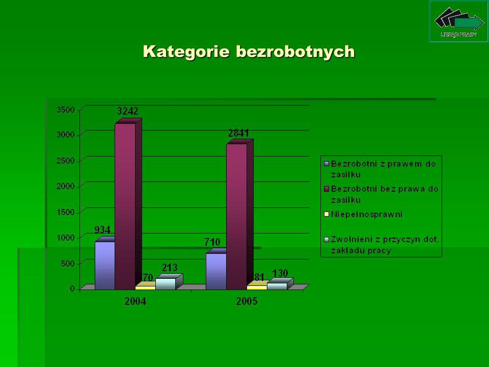 Programy realizowane przez PUP Nidzica w 2005 roku 1.
