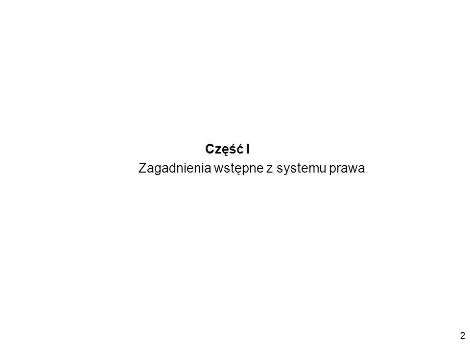 3 System źródeł prawa w Polsce tworzą: przepisy prawa krajowego (art.