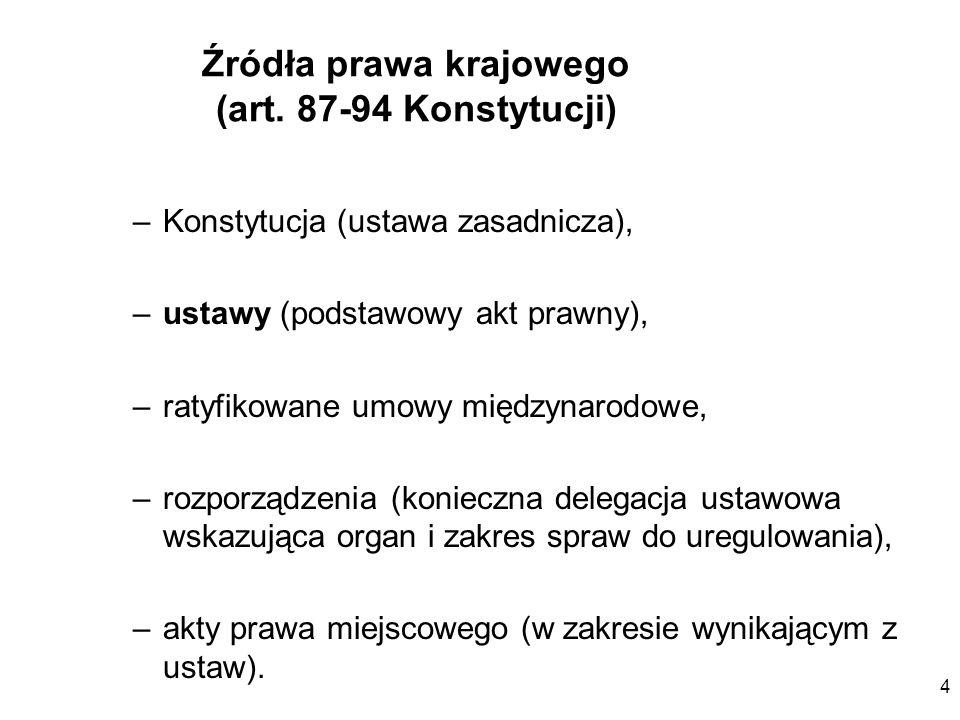 25 Konkluzje co do systemu prawa Analizując przepisy unijne bierzemy pod uwagę: treść przepisu, treść preambuły, w razie wątpliwości treść uzasadnienia oraz innych dokumentów (opinie i stanowiska wymieniane w procesie tworzenia prawa), wskazane jest porównanie wersji polskiej z inną wersją językową Nie wystarczy wykładnia literalna
