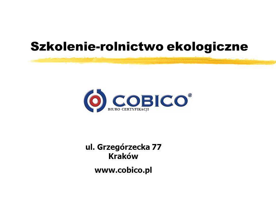 BIURO CERTYFIKACJI 12 Wydanie certyfikatu zCertyfikaty wydawane są na okres od 1 stycznia do 31 grudnia.