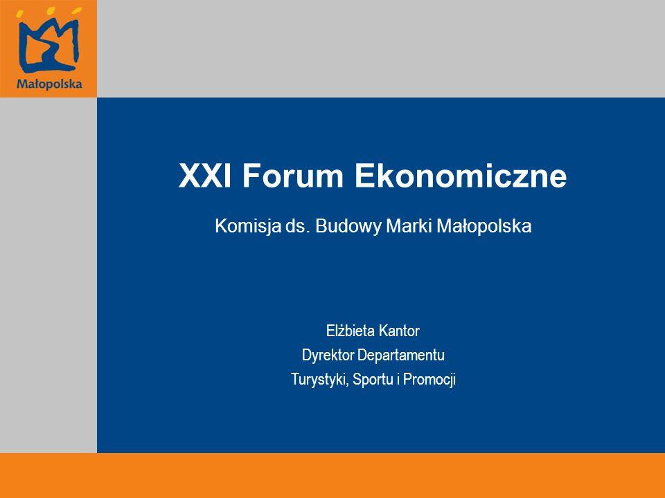 XXI Forum Ekonomiczne Komisja ds.