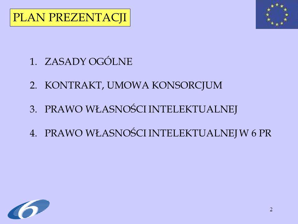 13 Cz. II. KONTRAKT, UMOWA KONSORCJUM