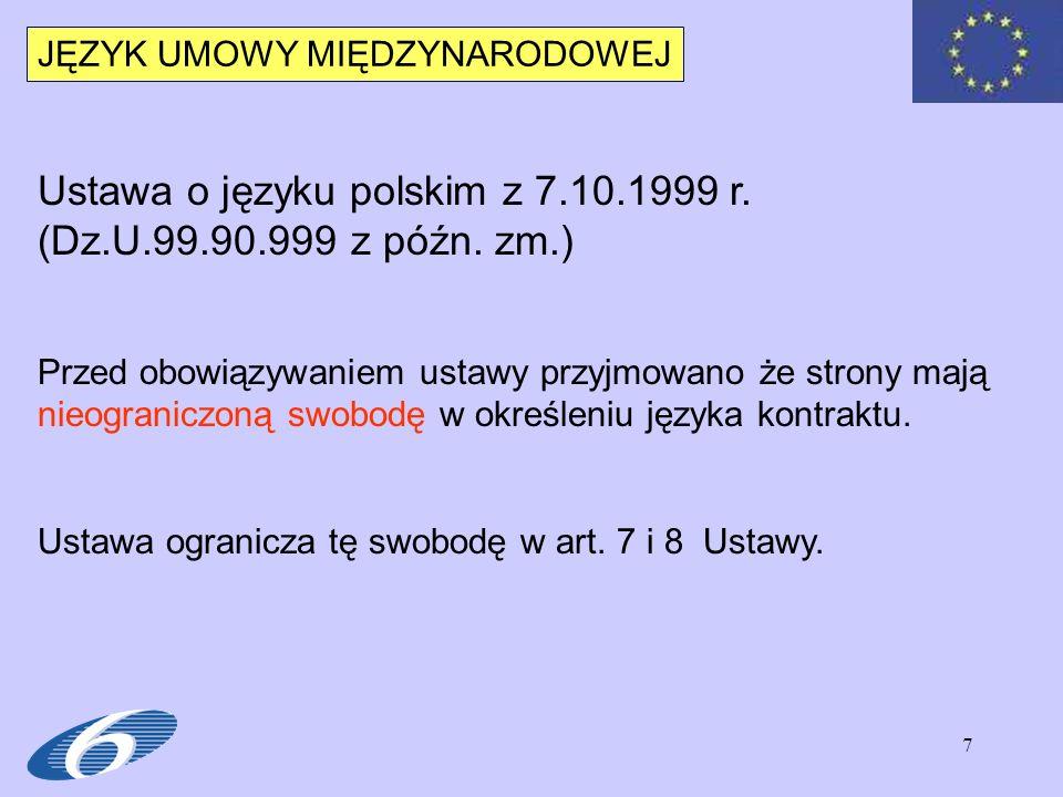 8 JĘZYK POLSKI Art.
