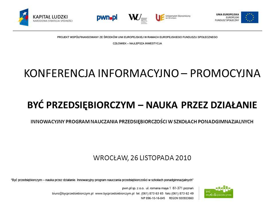 INICJATYWY NA RZECZ EDUKACJI BIZNESOWEJ NA PRZYKŁADZIE FEB dr. hab. Jerzy Niemczyk, prof. UE