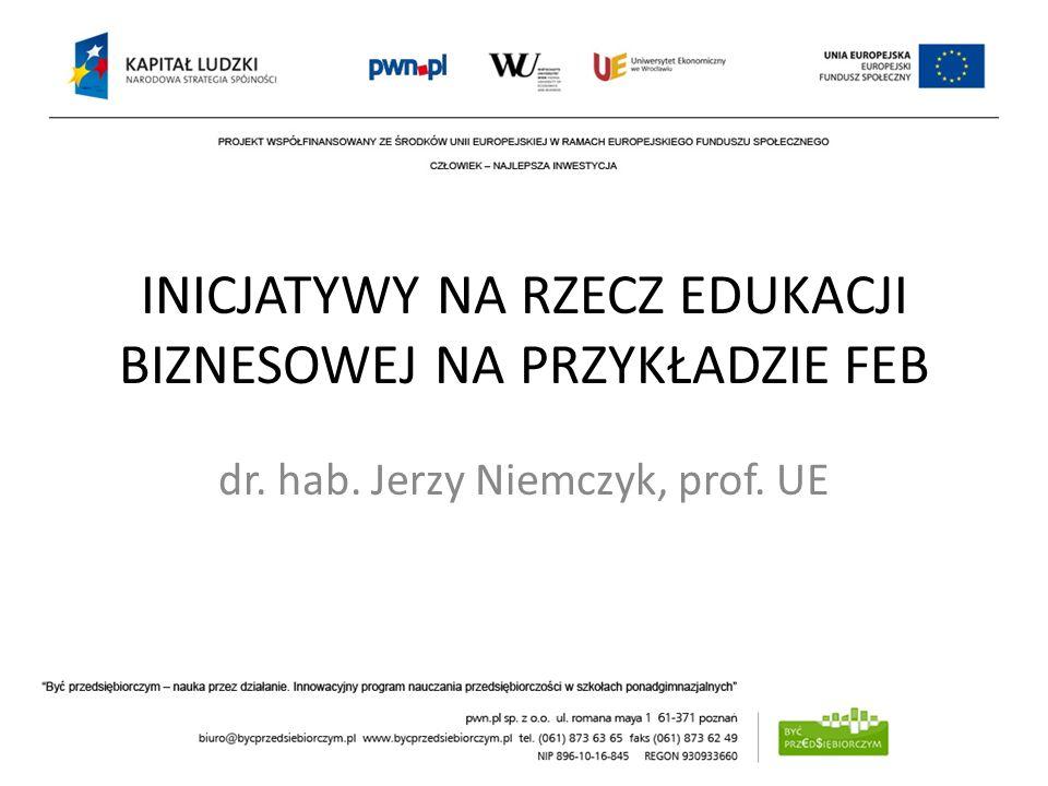 PROMOCJA Prowadzimy serwis internetowy www.feb.ue.wroc.pl Publikujemy zdjęcia ze spotkań, sprawozdania, komentarze, ankiety, oraz budujemy społeczność poprzez forum dyskusyjne na www.Facebook (od 2010r.)