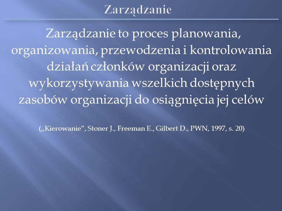 Celem rachunkowości zarządczej jest dostarczanie informacji odpowiadających specyficznym potrzebom menedżerów wszystkich szczebli zarządzania Informac