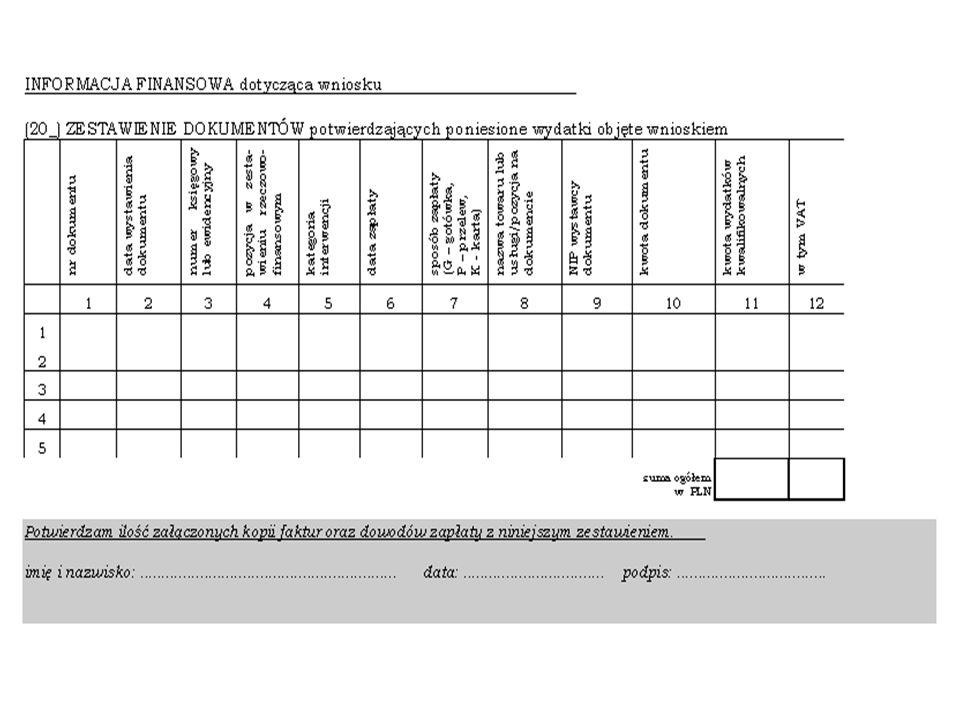 48 Współfinansowanie ze środków MGiP Wniosek Instytucji Wdrażającej lub Beneficjenta Końcowego na współfinansowanie Wojewoda Ministerstwo Gospodarki i Pracy Ministerstwo Finansów decyzja Zgodnie z harmonogramem !