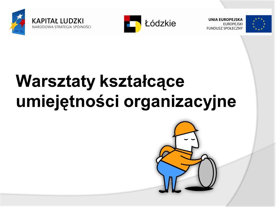 Warsztaty kształcące umiejętności organizacyjne