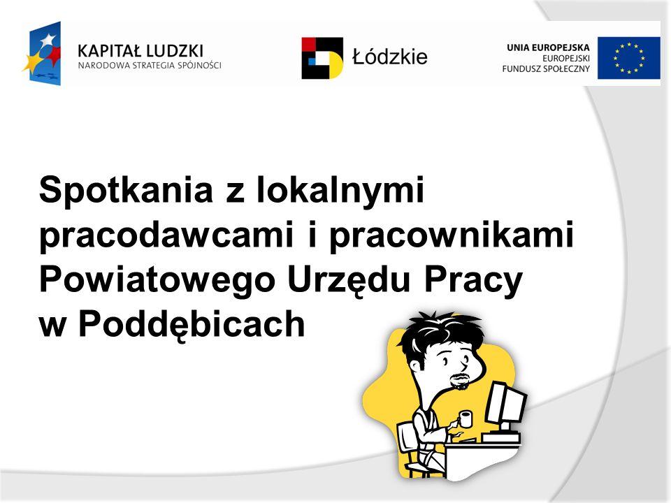 Spotkania z lokalnymi pracodawcami i pracownikami Powiatowego Urzędu Pracy w Poddębicach