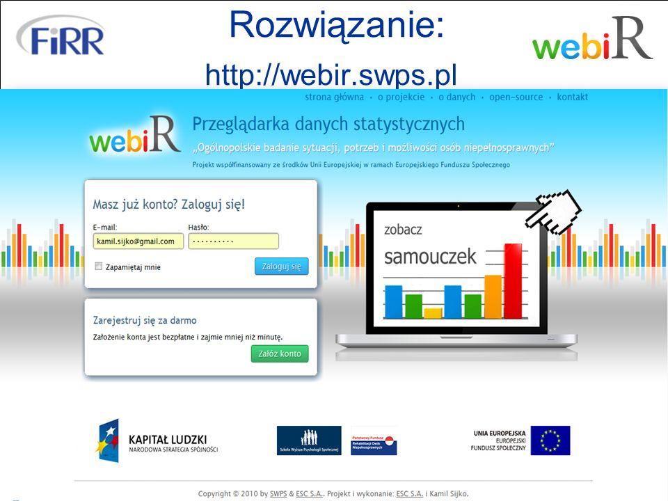 Rozwiązanie: http://webir.swps.pl