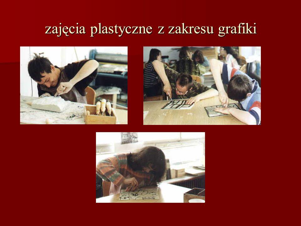 zajęcia plastyczne z zakresu grafiki