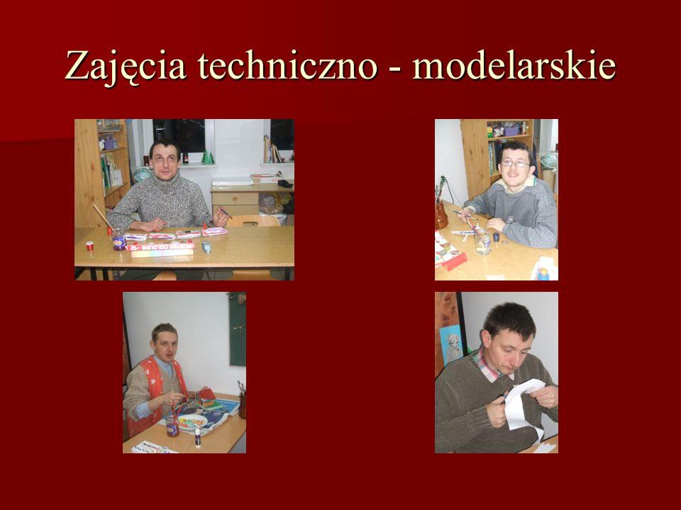 Zajęcia techniczno - modelarskie
