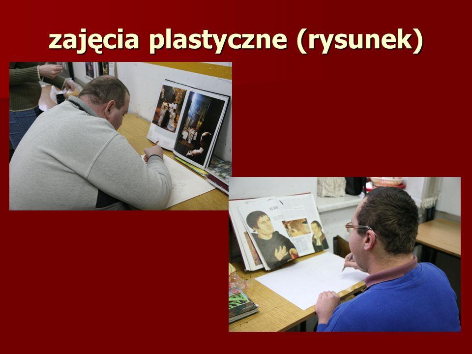 zajęcia plastyczne (rysunek)