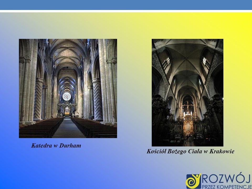 Katedra w Durham Kościół Bożego Ciała w Krakowie