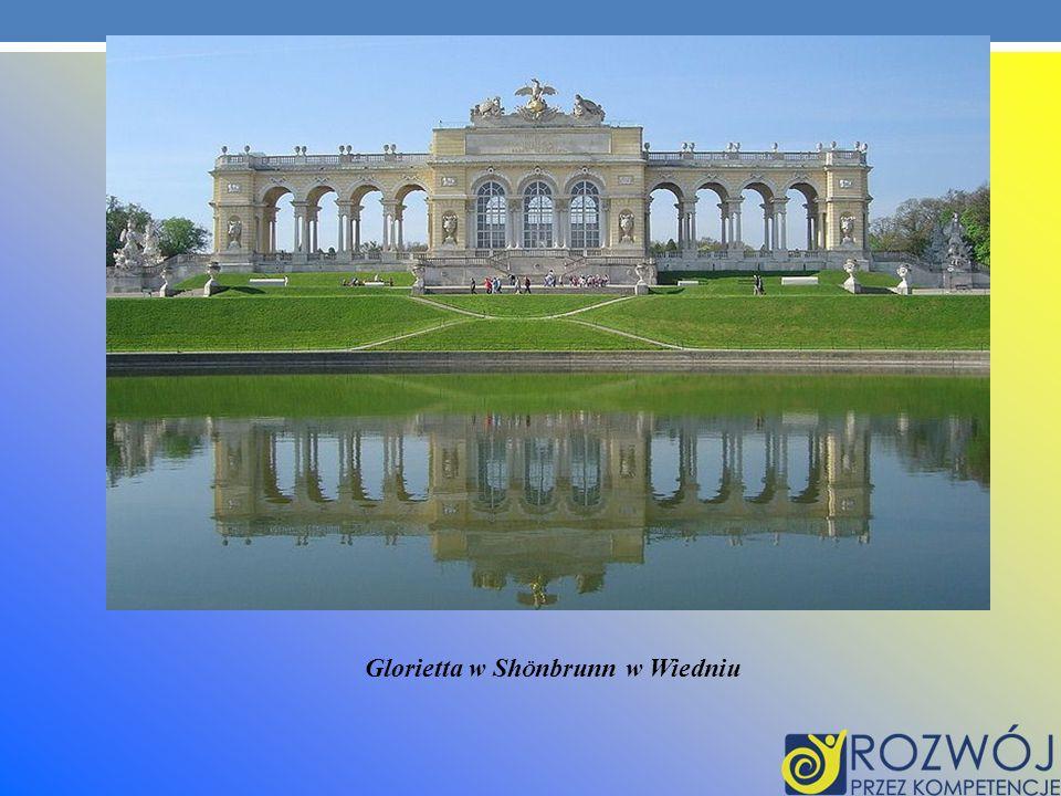 Glorietta w Sh Ö nbrunn w Wiedniu