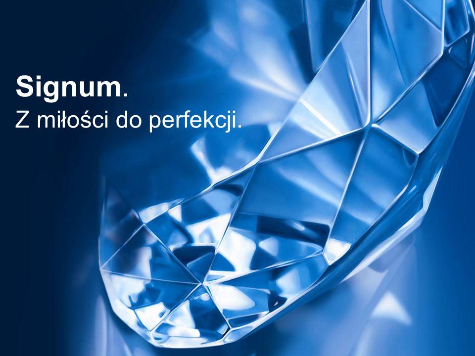 Slide 1 Signum. Z miłości do perfekcji.