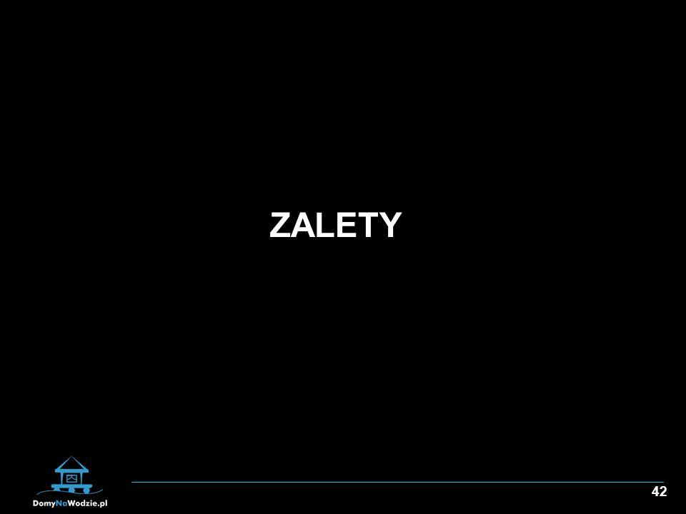 42 ZALETY