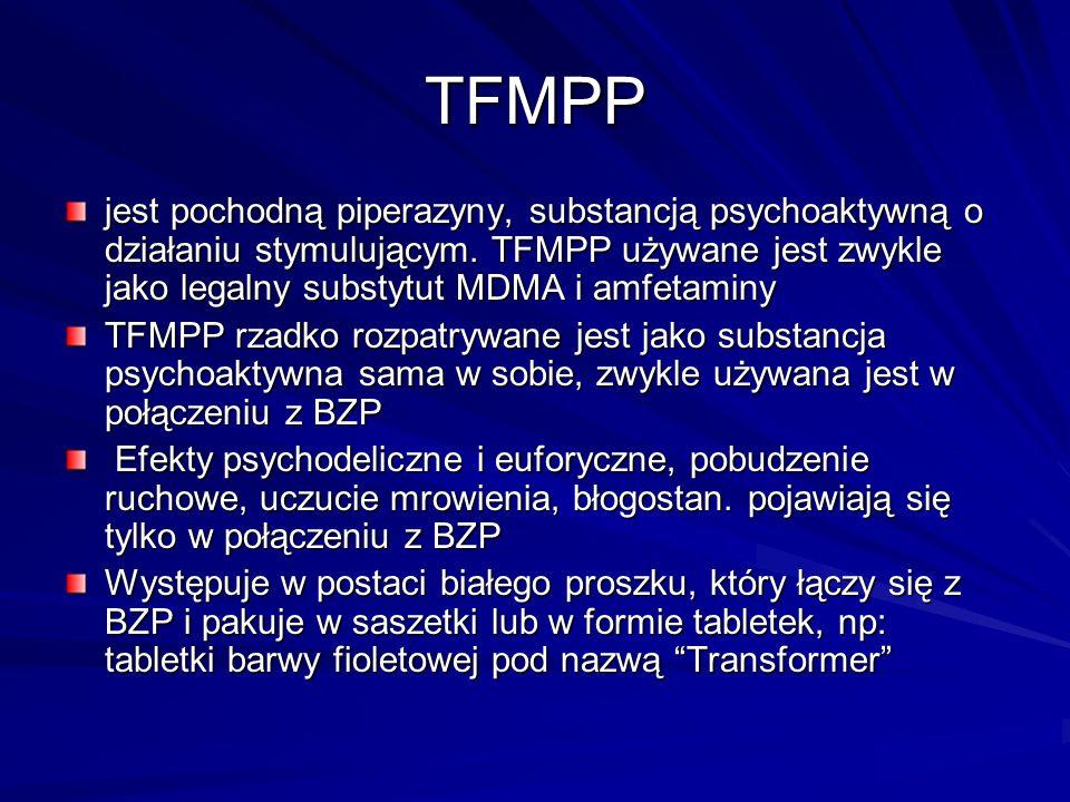 AMFETAMINA Amfetamina jest zażywana przez człowieka w różnych celach: jako używka (narkomania), jako środek dopingujący w sporcie (w odpowiednio zmnie