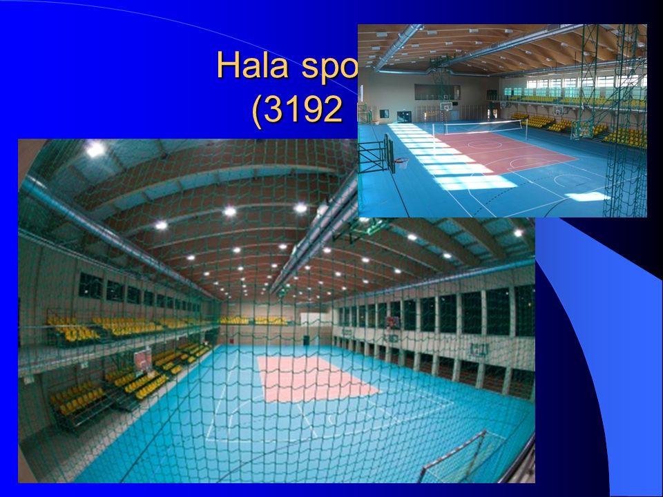 Hala sportowa (3192 m 2 )