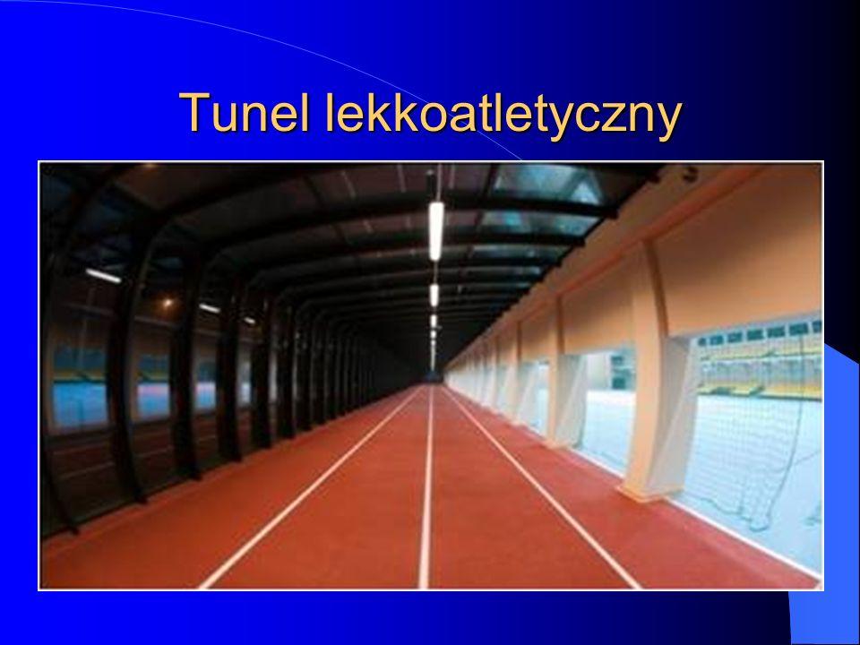Tunel lekkoatletyczny