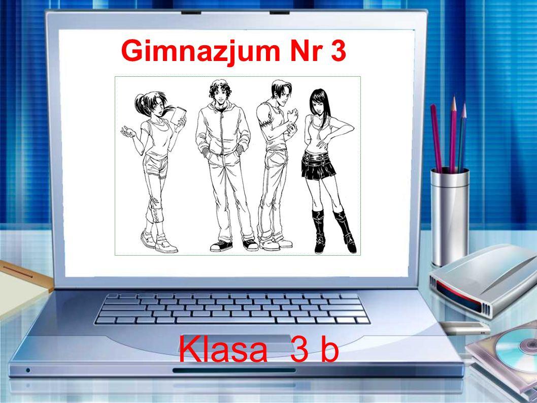 Gimnazjum Nr 3 Klasa 3 b