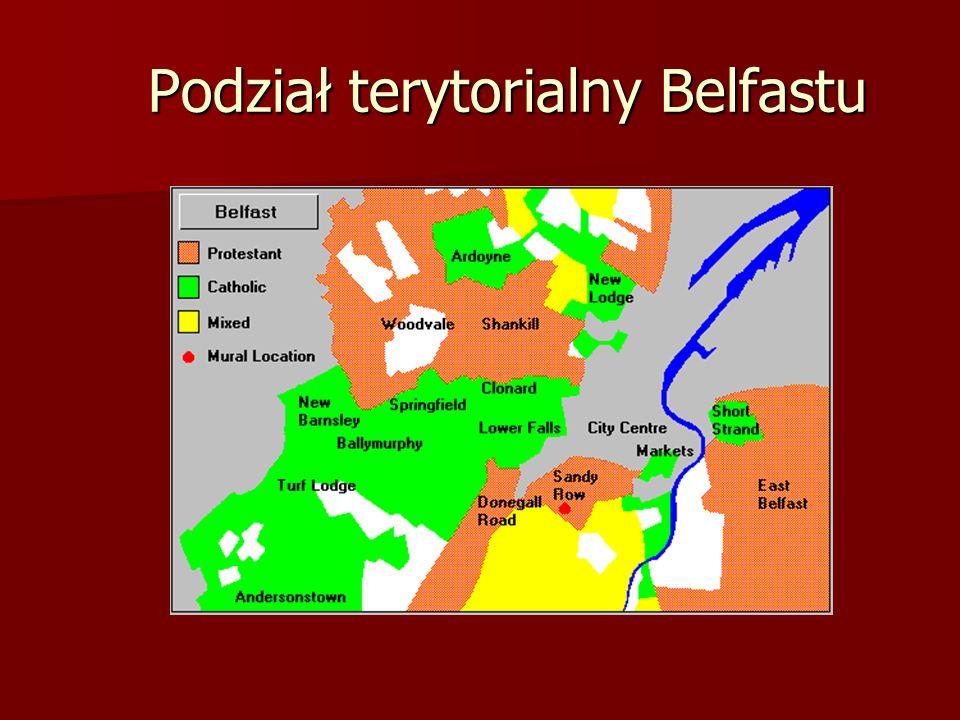 Podział terytorialny Belfastu Podział terytorialny Belfastu