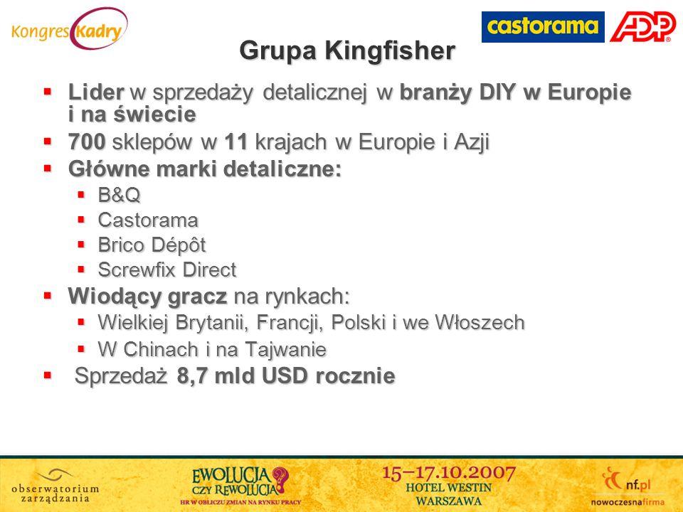 Lider w sprzedaży detalicznej w branży DIY w Europie i na świecie Lider w sprzedaży detalicznej w branży DIY w Europie i na świecie 700 sklepów w 11 k