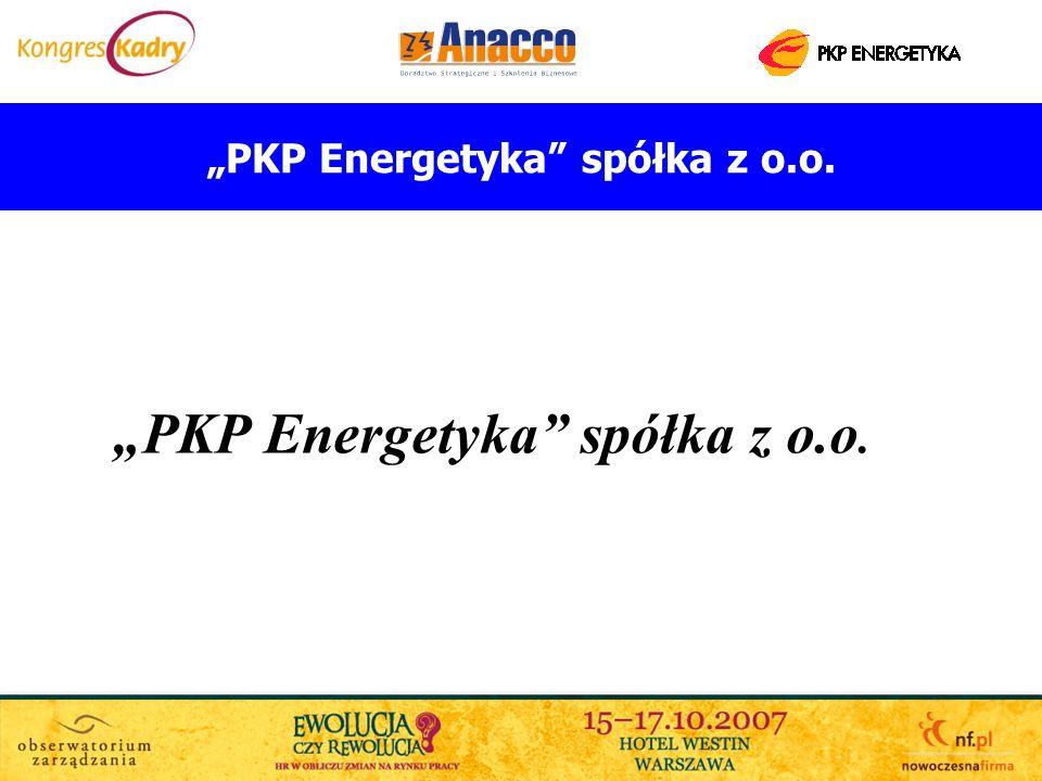 PKP Energetyka spółka z o.o. Struktura zatrudnienia według stażu