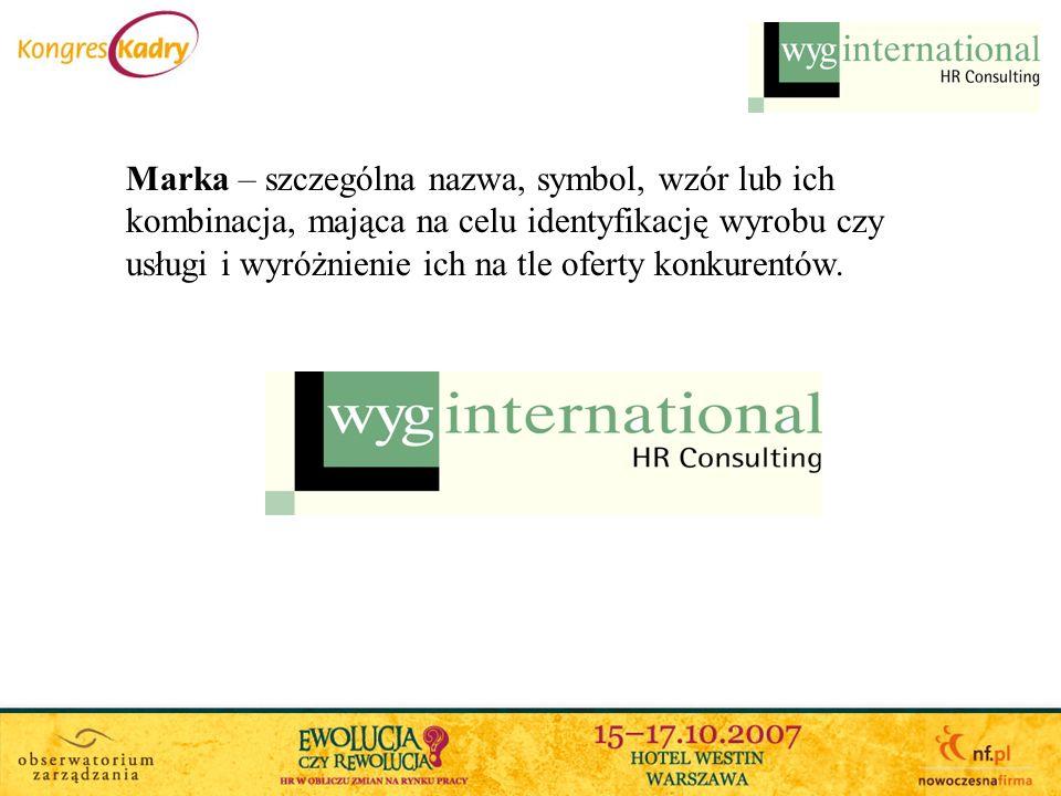 Marka – szczególna nazwa, symbol, wzór lub ich kombinacja, mająca na celu identyfikację wyrobu czy usługi i wyróżnienie ich na tle oferty konkurentów.