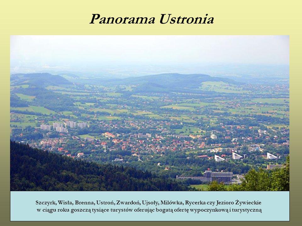 Panorama Ustronia Szczyrk, Wisła, Brenna, Ustroń, Zwardoń, Ujsoły, Milówka, Rycerka czy Jezioro Żywieckie w ciągu roku goszczą tysiące turystów oferuj