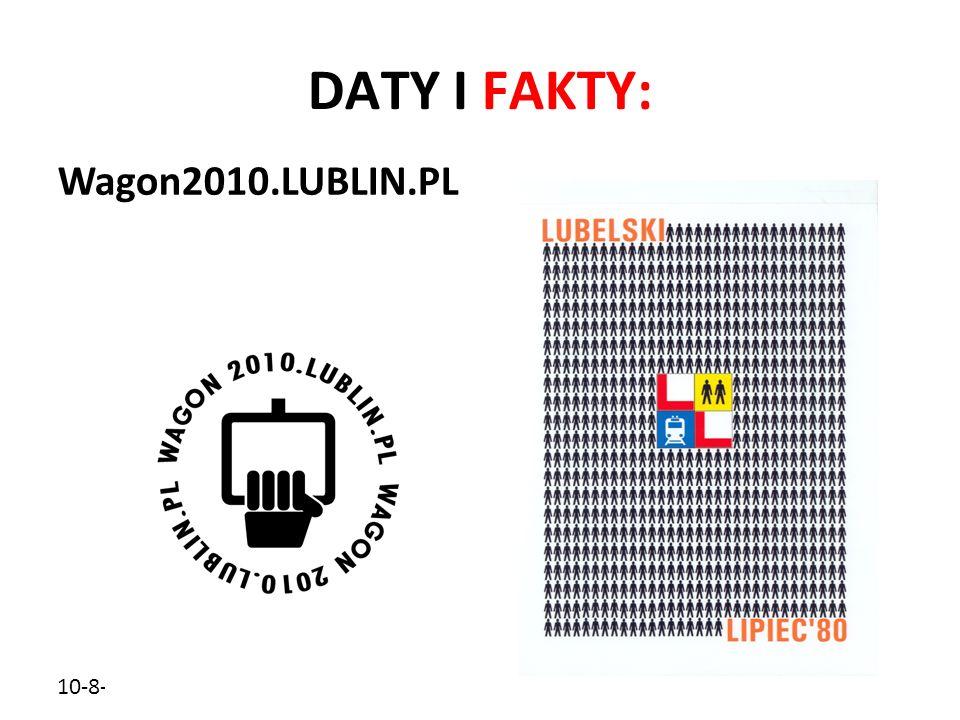 10-8-5 DATY I FAKTY: Wagon2010.LUBLIN.PL