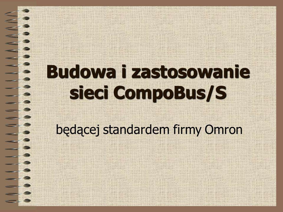 Budowa i zastosowanie sieci CompoBus/S będącej standardem firmy Omron
