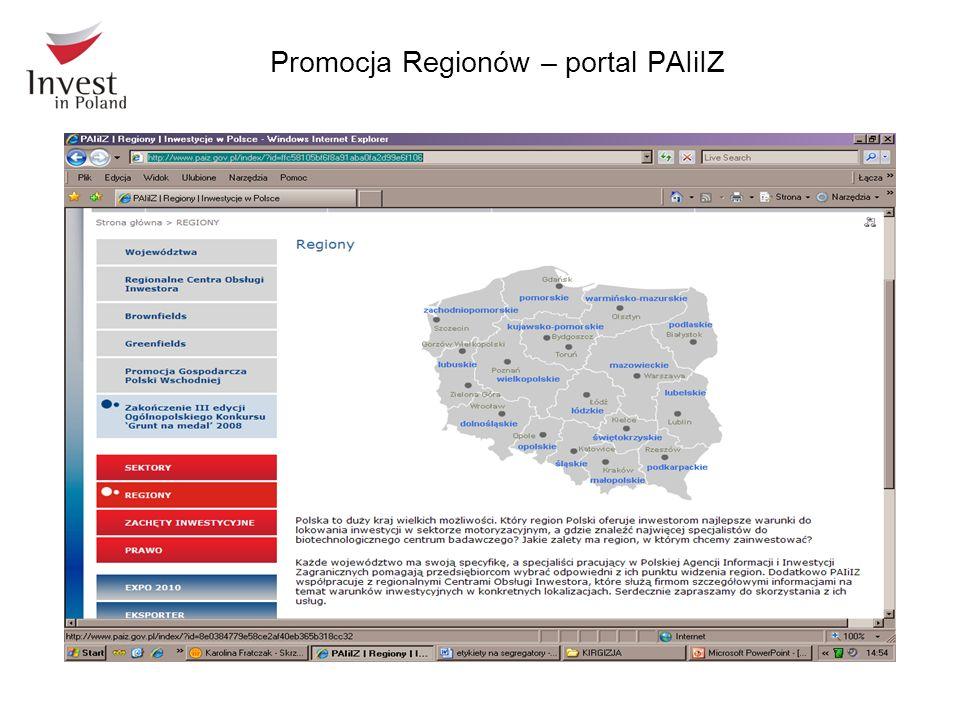 Promocja Regionów – portal PAIiIZ