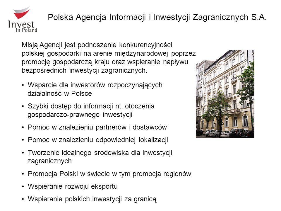Misją Agencji jest podnoszenie konkurencyjności polskiej gospodarki na arenie międzynarodowej poprzez promocję gospodarczą kraju oraz wspieranie napły