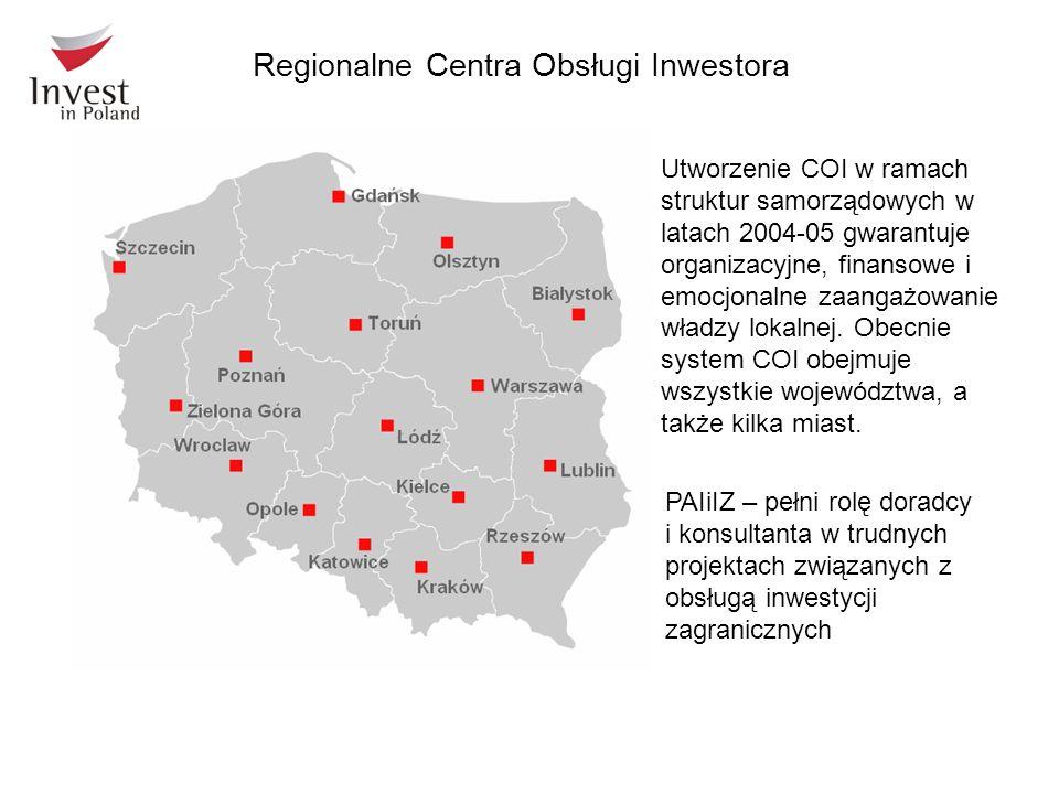 Utworzenie COI w ramach struktur samorządowych w latach 2004-05 gwarantuje organizacyjne, finansowe i emocjonalne zaangażowanie władzy lokalnej. Obecn