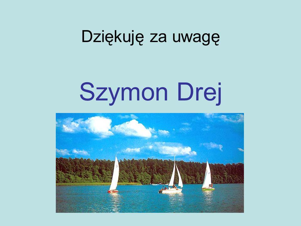 Dziękuję za uwagę Szymon Drej
