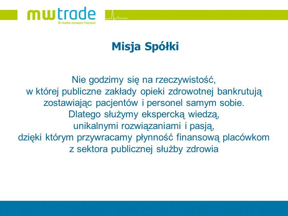 Wartości i Zasady MW Trade Misja MW Trade jest ściśle związana z wartościami, które traktowane są przez naszą Spółkę jako w pełni obowiązujące w naszej działalności.