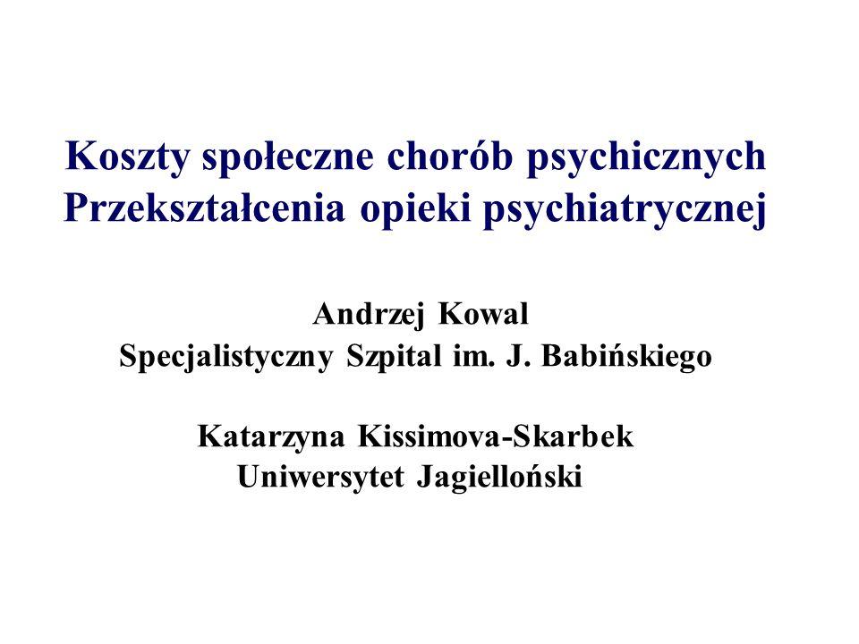 Obciążenie jakie stanowią choroby neuropsychiatryczne jako procent obciążenia wszystkich chorób Europa 2000 rok