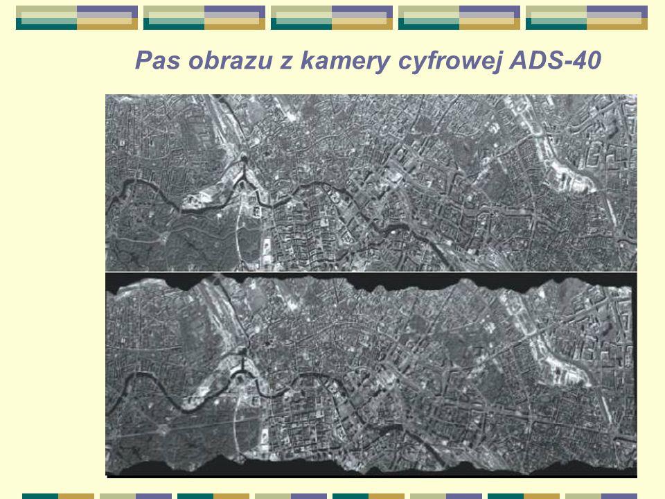 Pas obrazu z kamery cyfrowej ADS-40