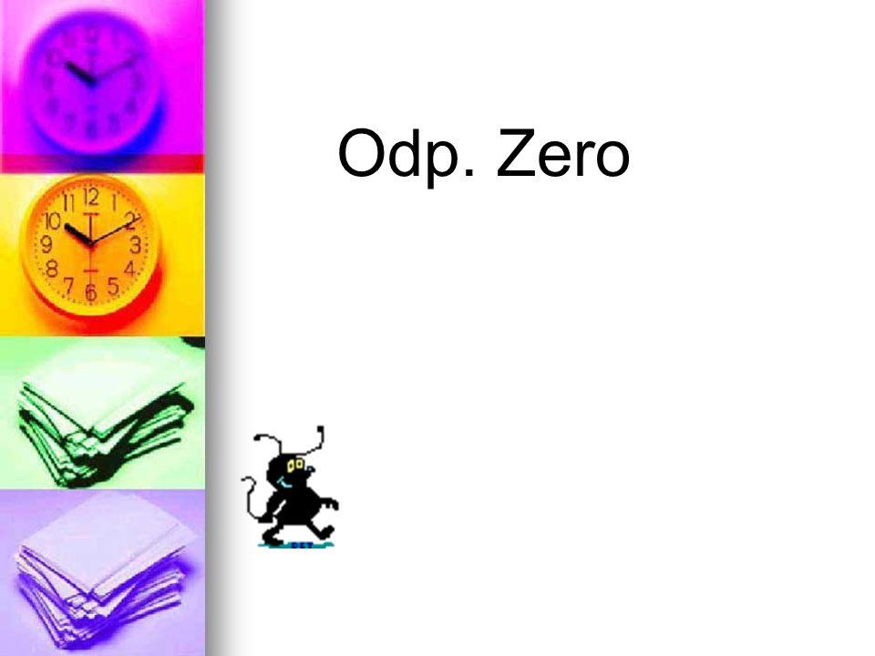 Odp. Zero