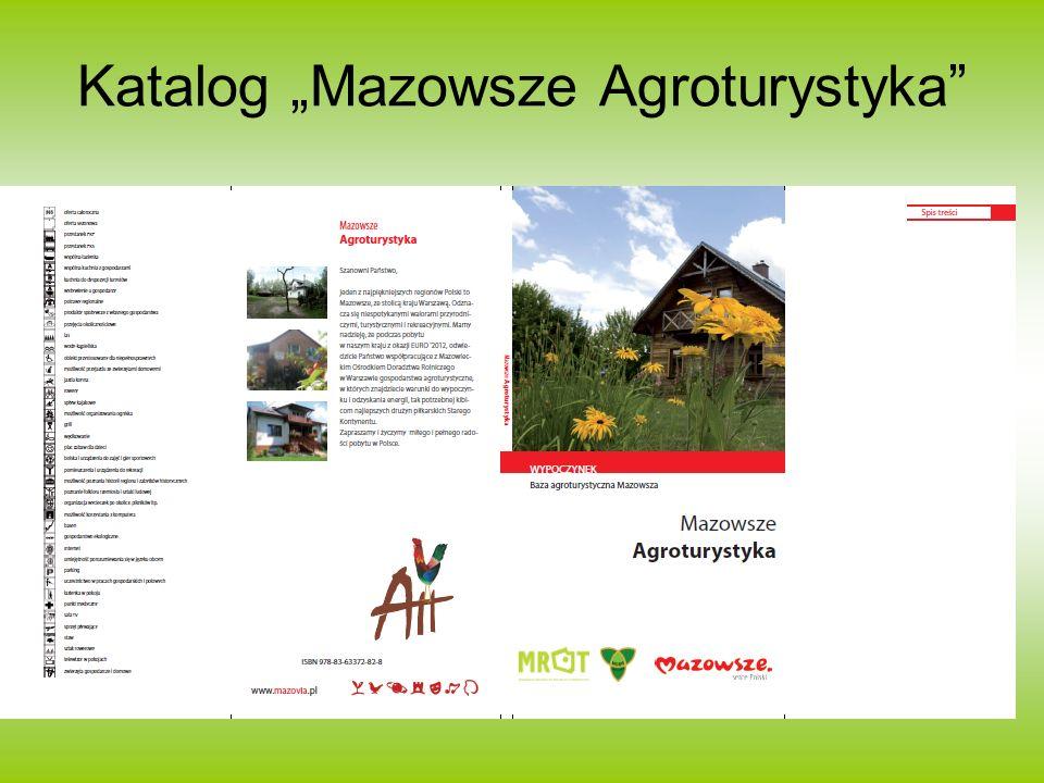 Katalog Mazowsze Agroturystyka